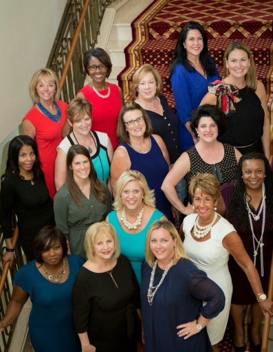 The Board of Directors for 2016-17, NAWBO-Indianapolis, member organization for women business owners