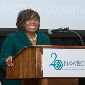 Tammy Butler Robinson NAWBO-Indianapolis board president 2017-18