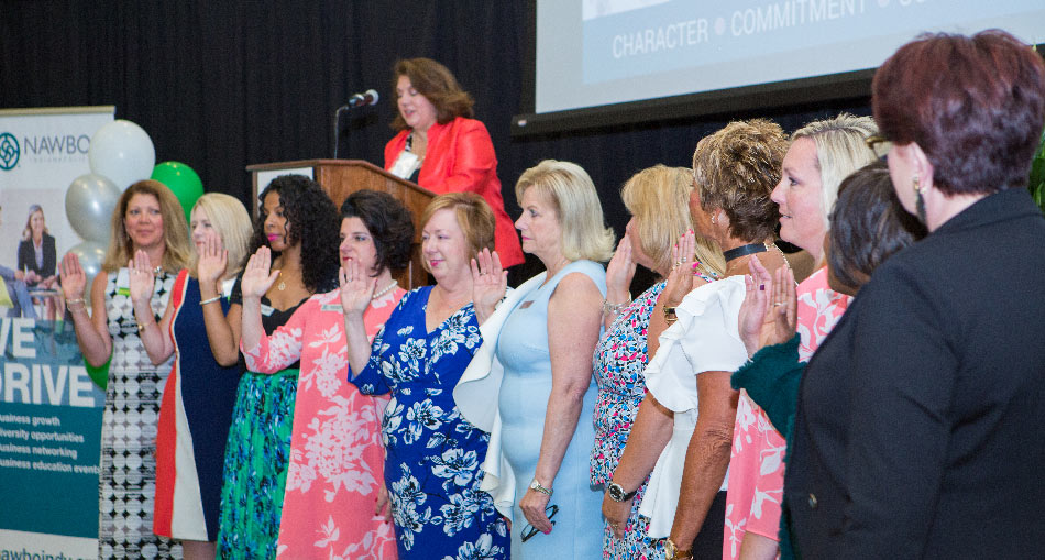NAWBO-Indianapolis Board of Directors 2017-18 women business owners and leaders