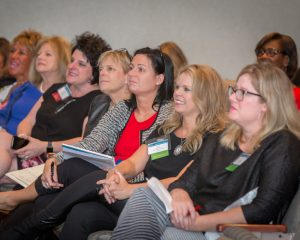 NAWBO-Indianapolis members, luncheon networking, women business owners