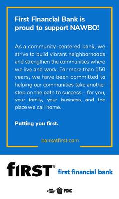 First Financial Bank | NAWBO-Indianapolis Supporter